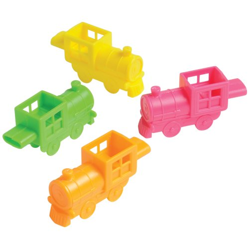 (DollarItemDirect Train Shaped Whistles , Sold by 27 Dozens)