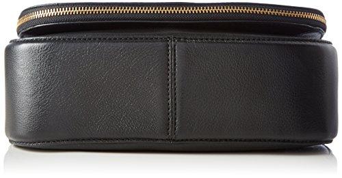 Marc Jacobs Recruit Saddle Bag, Borsa a mano Donna Nero (Black 001)