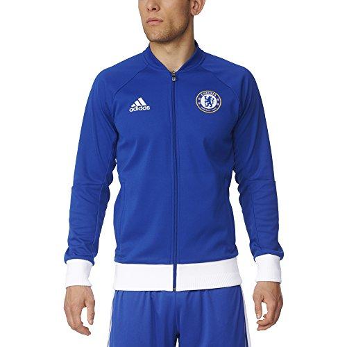 adidas Men's Chelsea FC Anthem Track Jacket (Small) (Adidas Chelsea Jacket)
