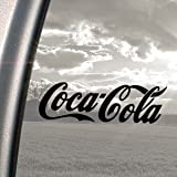 Coca Cola Schwarz Aufkleber Truck Bumper Window Vinyl Aufkleber