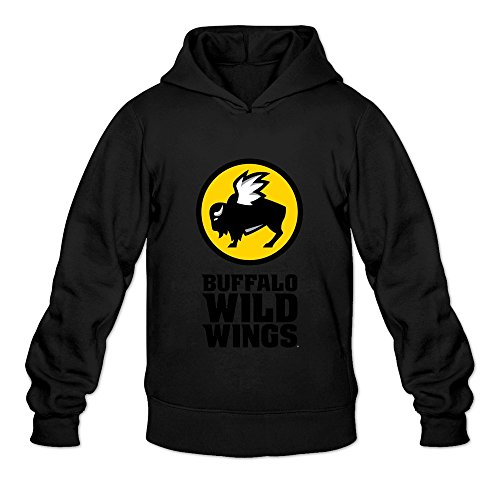 leberts-black-buffalo-wild-wings-casual-hoodies-for-mens-size-large