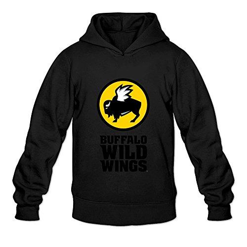 leberts-black-buffalo-wild-wings-long-sleeve-hoodies-for-men-size-small