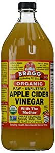 Amazon.com : Bragg Organic Raw Apple Cider Vinegar, 32 oz