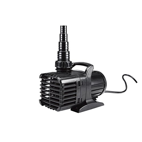 Submersible Waterfall Pump 2150 GPH (36 GPM) and 20 feet ...