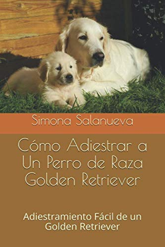 Cómo Adiestrar a Un Perro de Raza Golden Retriever: Adiestramiento Fácil de un Golden Retriever por Simona Salanueva