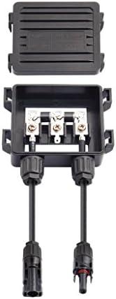 Solar Anschlussdose PV-Stecker Mit 2 Dioden Für Sonnenkollektor 50w-170w 6A