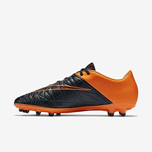 Nike Herren Hypervenom Phelon Ii TC FG Stollenschuh schwarz / orange