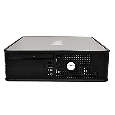 2016 Dell Optiplex 780 SFF Desktop Computer Intel Core 2 DUO 3.16GHz, 4GB RAM, 160GB HDD, Windows 7 Professional 64 Bit (Certified Refurbished)