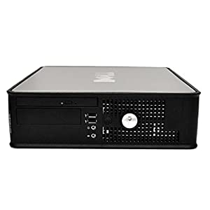 Dell Optiplex 780 SFF Desktop Business Computer PC (Intel Dual-Core 3.1GHz Processor, 4GB DDR3 Memory, 160GB HDD, DVD, Windows Professional) (Certified Refurbished)