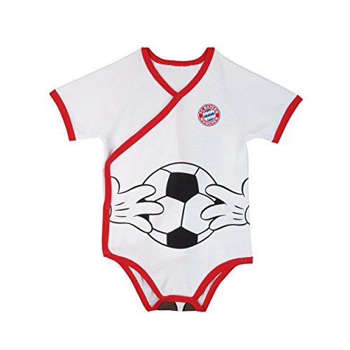 competitive price ceaf3 6697b Mickey Mouse Baby Body FC Bayern Munich, Baby Romper Suit, Baby Body, Size  80