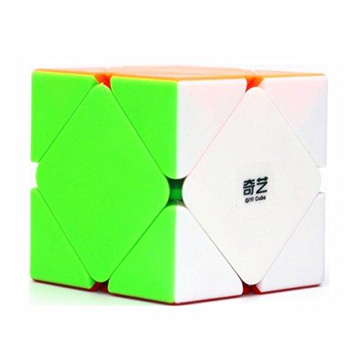 CuberSpeed Qiyi QiCheng Skewb Stickerless Magic Cube Mo Fang Ge QiCheng Skewb Stickerless Speed cube