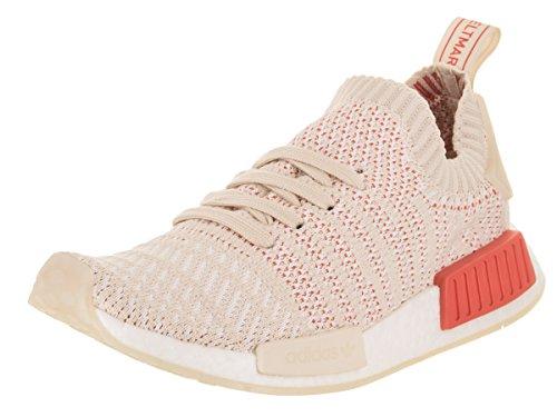 adidas Womens NMD_R1 STLT Primeknit Originals Running Shoe Linen / Crystal White-footwear White mVkvfPSZ