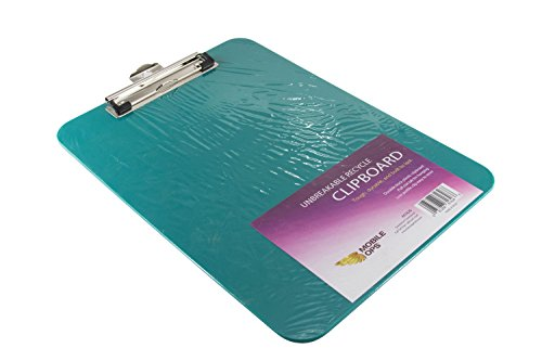 Mobile Ops Unbreakable Recycled Clipboard Green (61626) by Mobile Ops
