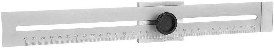 0-300mm Precision Marking Rule Carbon Steel Woodworking Marking Ruler Gauge