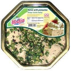 Deli Fresh Pistachio Halva, approx. 1lb wedge or loaf