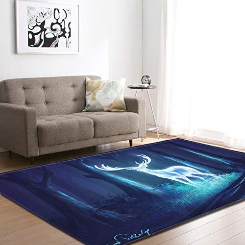 LFDDT Cartoon 3D Horse Dog Alfombras alfombras impresión ...