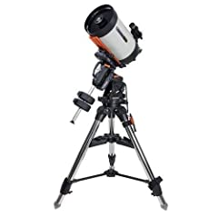 Ready to see the moon and more? Become an expert in astronomy today. The Celestron EdgeHD is an aplanatic flat-field Schmidt optical system designed to produce aberration-free images with pinpoint stars all the way to the edge of the f...