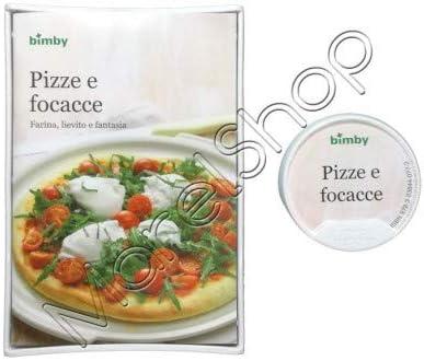 """Original Libro de Cocina Digitales """"Pizze e Focacce"""" para Thermomix TM5 Vorwerk (Versión Italiana): Amazon.es: Hogar"""
