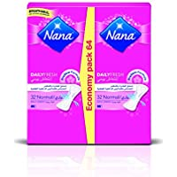 Nana Pantyliner Economy, Pack of 64