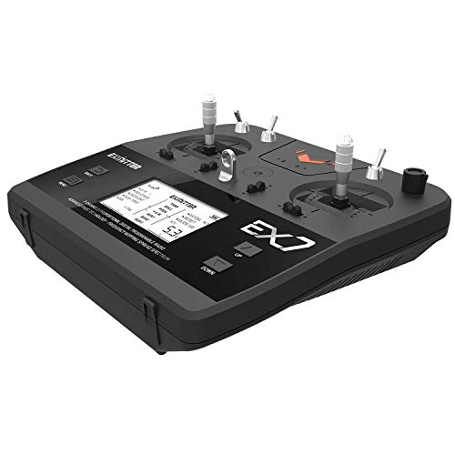 VOLANTEXRC Radio Transmitter with Receiver Set EX7 2.4Ghz 7 Channel