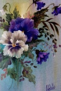 Bob Ross How-to Paint Packet Floral Pansies Kp025 by Bob ...