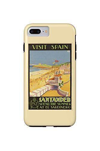 visit-spain-santander-vintage-poster-artist-baldrich-javier-c-1930-iphone-7-plus-cell-phone-case-tou