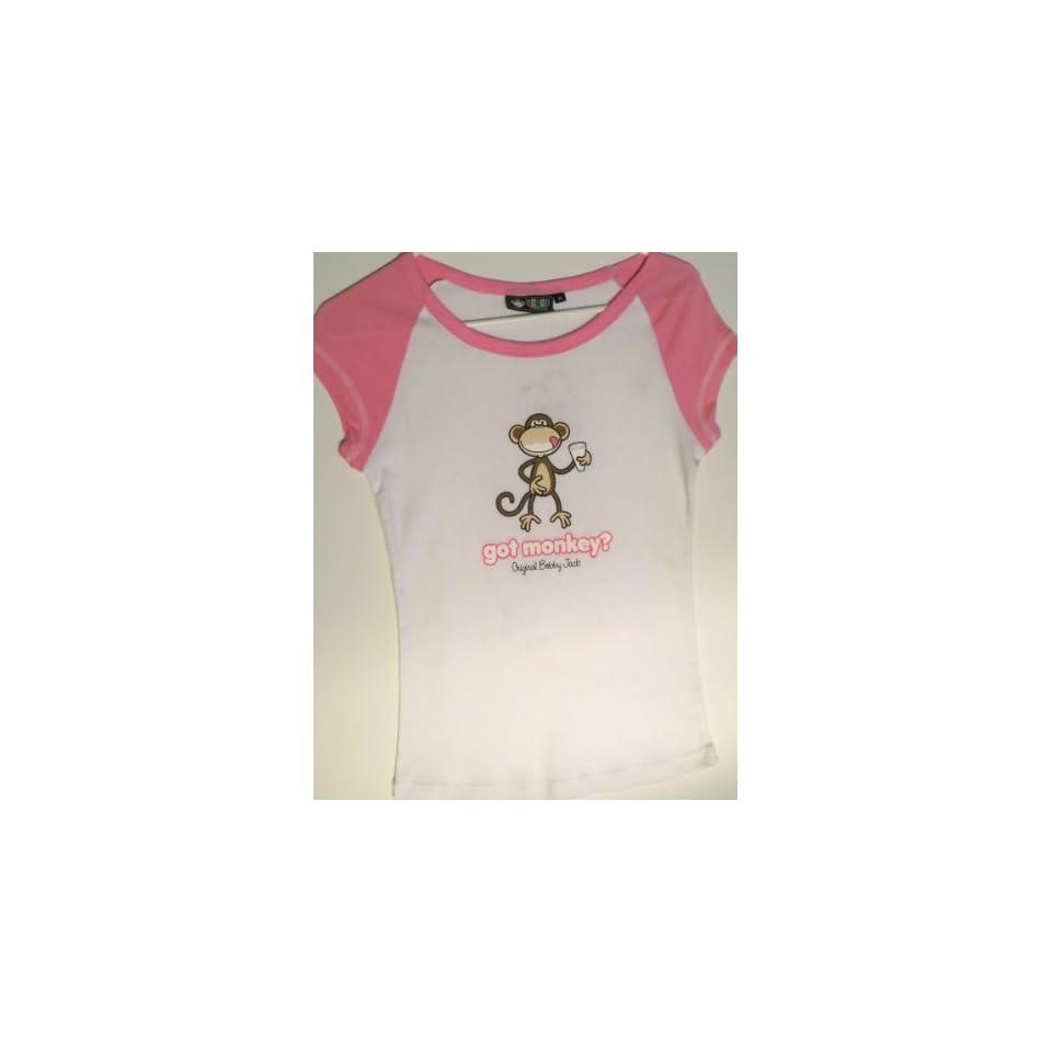 Original Bobby Jack Got Monkey? Medium Baby Doll T shirt