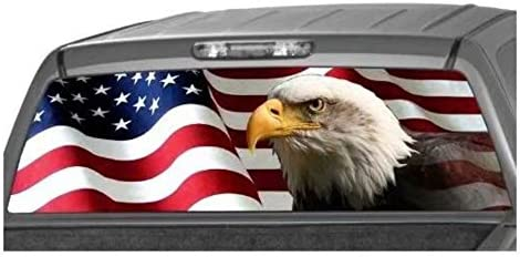Leaftree American Banner Graphic Sticker