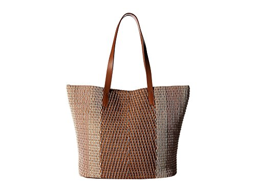 Lucky Teki Tote Bag, Misty Rose/Patent by Lucky Brand