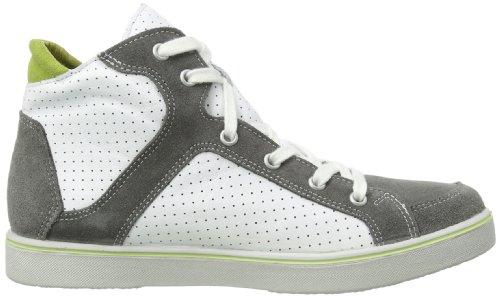 Ricosta Brian(M) 5427600 - Zapatillas de cuero para unisex-adulto, color blanco, talla 34 Blanco (Weiß (patina/Weiß 810))