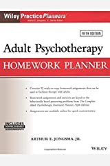 Adult Psychotherapy Homework Planner, 5th Edition (PracticePlanners) Paperback