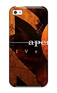 Awesome A Perfect Circle Flip Case With Fashion Design For Iphone 5c