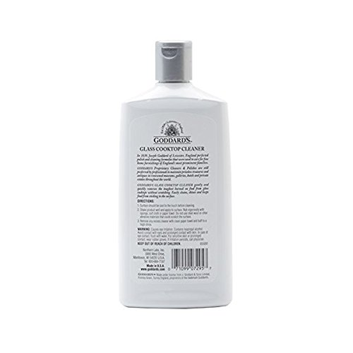 Goddard's Glass Cooktop Cleaner, 10 oz, Case of 6 by Goddard's (Image #2)