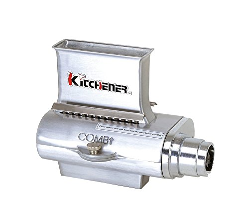 KITCHENER Heavy Duty Commercial Grade Electric Stainless Steel High HP Meat Grinder ... (Meat Tenderizer Attachment)