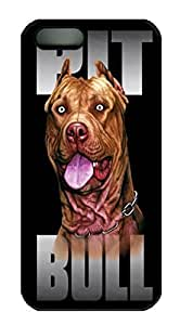Pit Bull Terrier Dog HAC1014398 Custom PC Hard For HTC One M8 Phone Case Cover Black