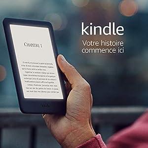 Kindle, maintenant avec un éclairage frontal intégré – Avec publicités, Blanc