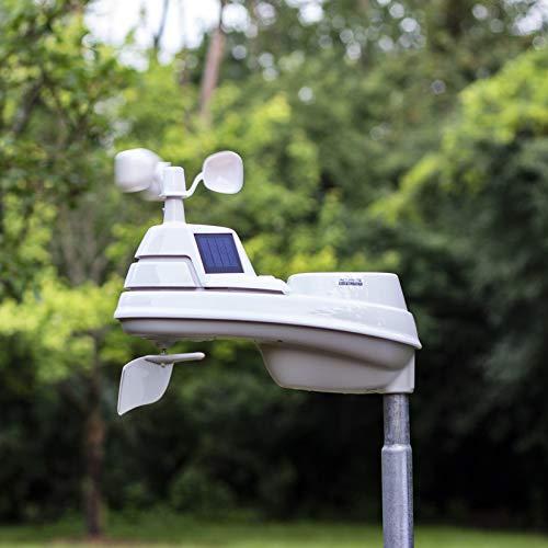 Estación meteorológica AcuRite 01024M Pro con pantalla HD, detector de rayos, lluvia, viento, temperatura y humedad