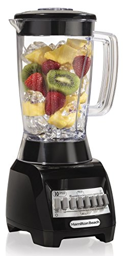 Hamilton Beach 10 Speed Blender Plastic