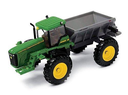 TOMY John Deere New Leader Dry Box Spreader - Ertl Collec...