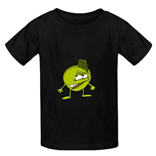 karlee-cartoon-apple-despise-girl-teeshirts