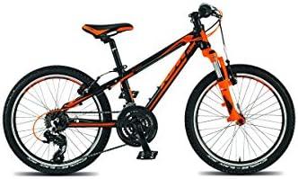 KTM Wild Speed 20, bicicleta infantil, 2015, negro mate naranja RH ...