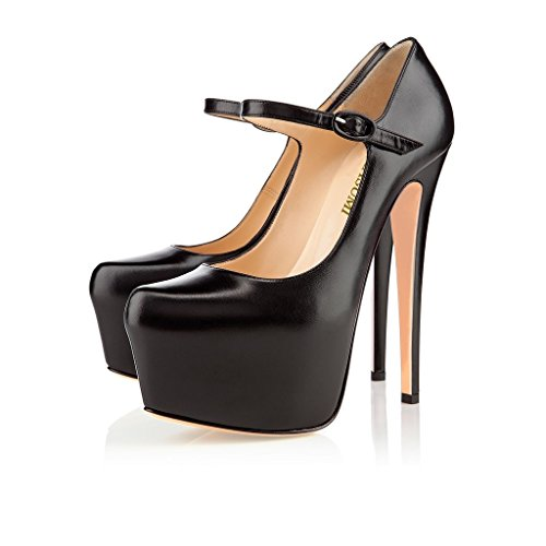 compensées Kolnoo femme femme Kolnoo Kolnoo chaussures Schwarz chaussures compensées Schwarz chaussures femme Kolnoo compensées Schwarz 7Ewrq5nHwA