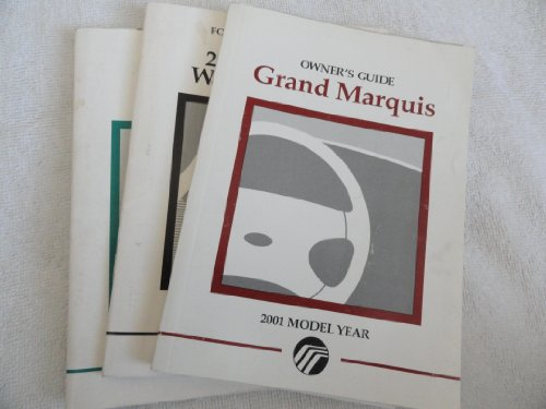 2001 Mercury Grand Marquis owners (Mercury Marquis Owners Manual)