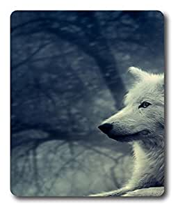 laptop mouse pad Wolf Animal Awesomes PC Custom Mouse Pads / Mouse Mats Case Cover