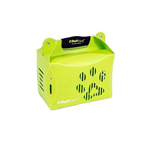 Petface Eco Pet Carrier Green Small