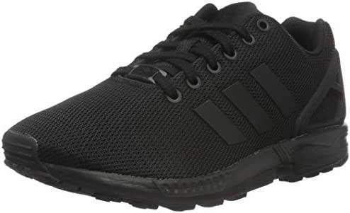 Adidas Zx Flux, Unisex Adults' Low Top Sneakers, Black (Core