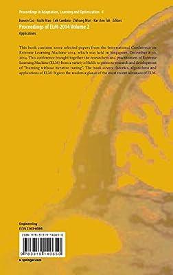 Proceedings of ELM-2014 Volume 2: Applications
