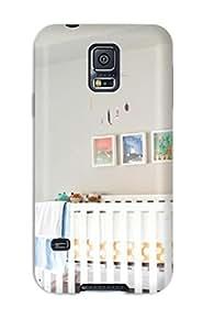 Premium Tpu Neutral Nursery With White Crib Cover Skin For Galaxy S5 wangjiang maoyi