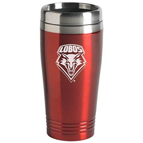 University of New Mexico - 16-ounce Travel Mug Tumbler - Red