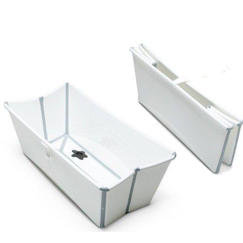 Stokke Flexi Bath - Foldable Baby Bath Tub for Infants Throu